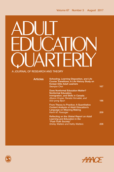 Adult Education Quarterly