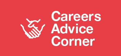 Careers advice corner banner