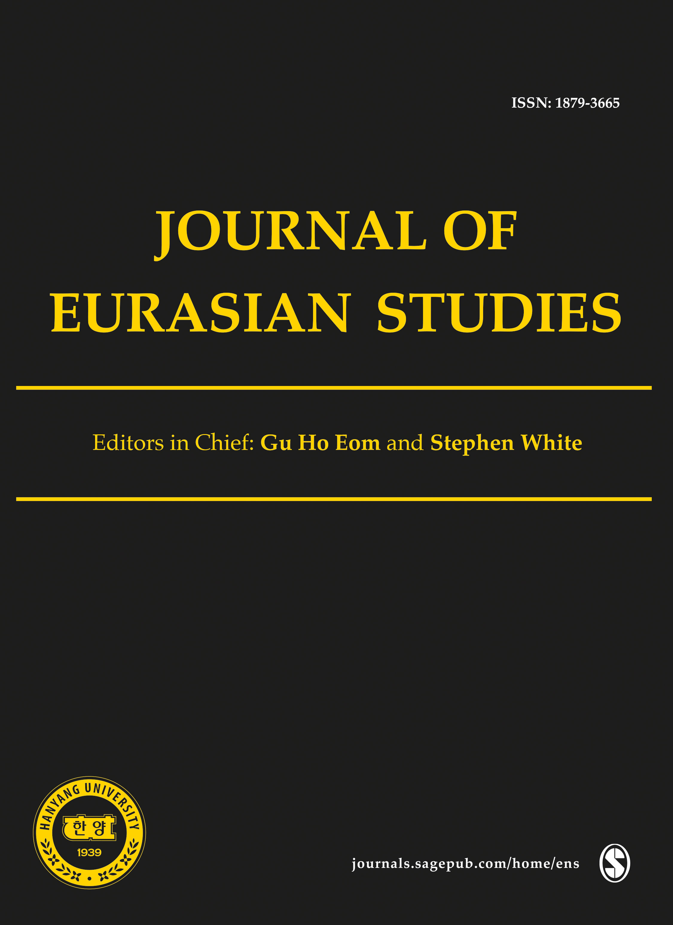Journal of Eurasian Studies