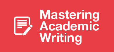 Mastering academic writing banner