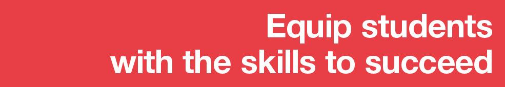 Skills to succeed