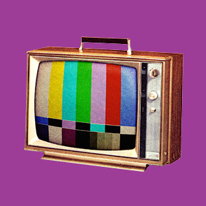 old tv image