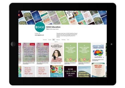 SAGE Education Pinterest