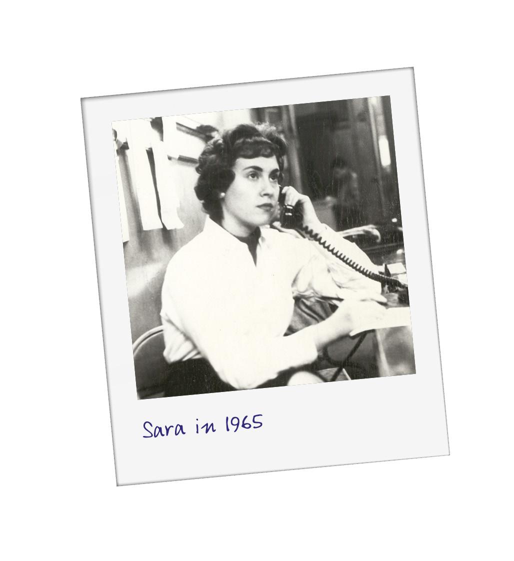 Sara Miller McCune when she first set up SAGE