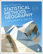 Statistical Methods for Geography 5th Edition Cover