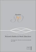 Research Studies in Music Education