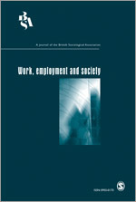 Work, employment and society