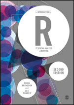 An Introduction to R for Spatial Analysis and Mapping cover